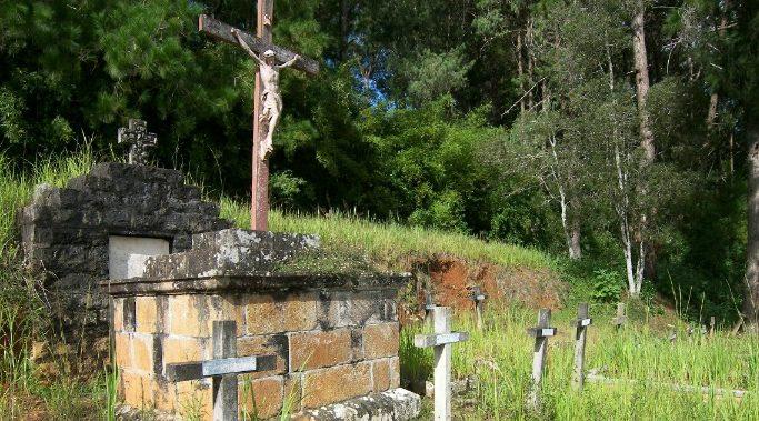 Cmentarz-w-Maranie-krzyż-miejsce-gdzie-był-pochowany-bł.-Jana-Beyzyma.-e1470901998237