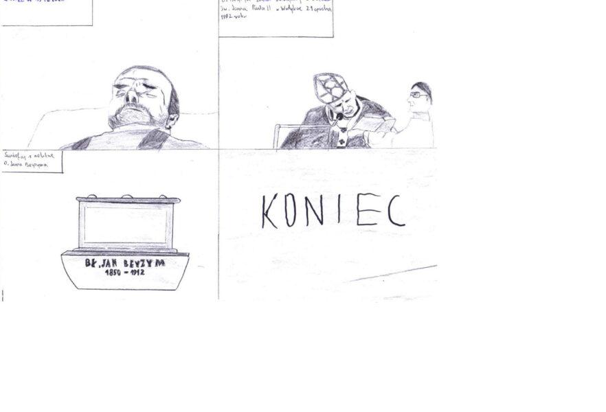 Sp Krzyszkowice – komiks Beyzym – J. Pasionek i M. Marszałek.003a