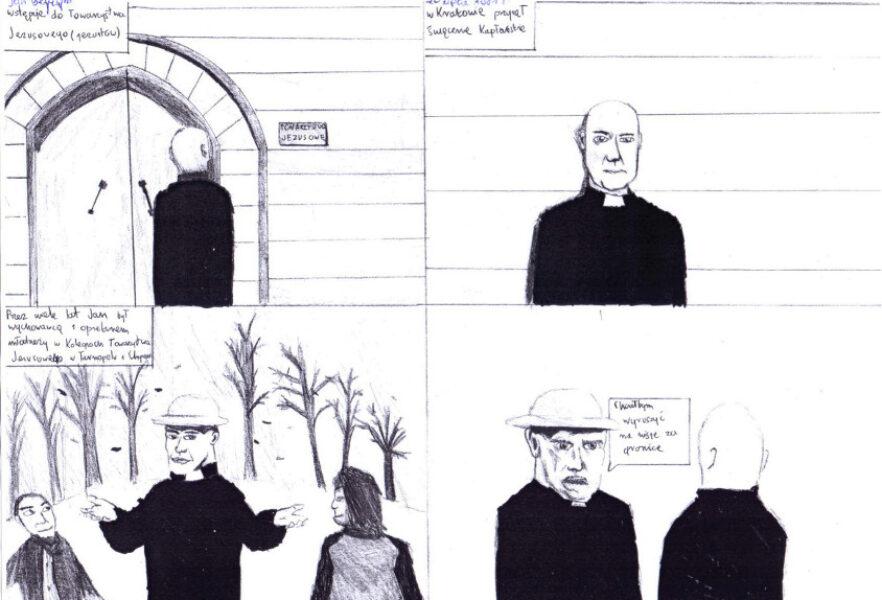 Sp Krzyszkowice – komiks Beyzym – J. Pasionek i M. Marszałek001a
