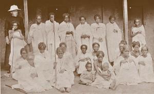 Ambahivoraka, o. Beyzym i kobiety trędowate