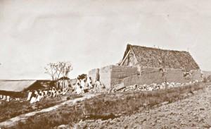 Ambahivoraka, prowizoryczny kościół w schronisku dla trędowatych
