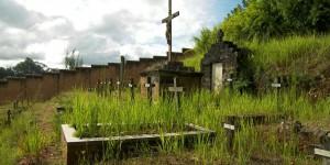 Cmentarz w Maranie, gdzie byl grob o. Beyzyma