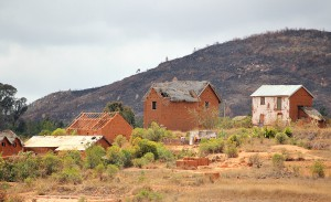 Frament wioski Soamanandray