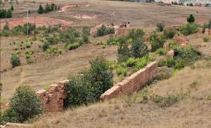 Framgent murów schroniska Ambahivoraka