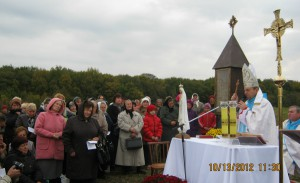 Poświęcenie kapliczki Jana Beyzyma w Beyzymac2