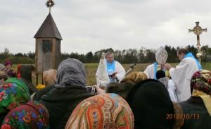 Poświęcenie kapliczki Jana Beyzyma w Beyzymac4