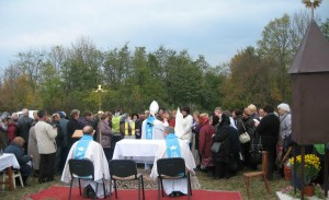Poświęcenie kapliczki Jana Beyzyma w Beyzymac5