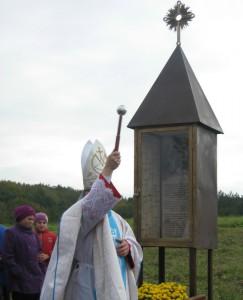 Poświęcenie kapliczki Jana Beyzyma w Beyzymac6