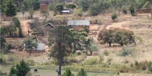 Wioska w poblizu leprozorium Ambahivoraka